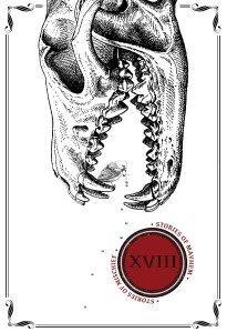 Cover art for XVIII