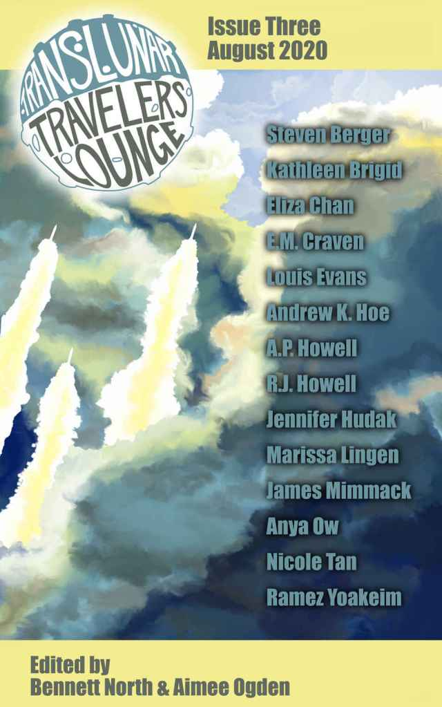 Translunar Travelers Lounge Issue 3 cover